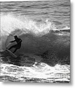 Power Carve Surfer Photo Metal Print by Paul Topp