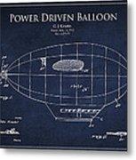 Power Driven Balloon Patent Metal Print