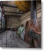 Power Generator Metal Print