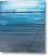 Power Lines 14 Metal Print