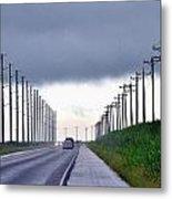 Power Lines57 Metal Print
