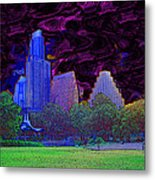 Power Of The Night Metal Print