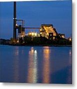 Power Plant Metal Print by Adam Romanowicz