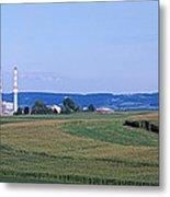 Power Plant Energy Metal Print