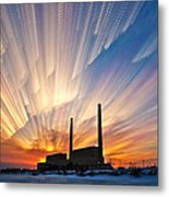 Power Plant Metal Print