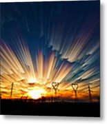Power Source Metal Print by Matt Molloy