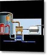 Power Station, Artwork Metal Print