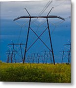 Power Towers Metal Print