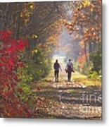 Power Walkers Metal Print