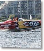 Powerboat 3 Metal Print