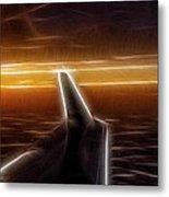 Powered Flight Metal Print