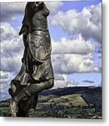 Powis Castle Statuary Metal Print