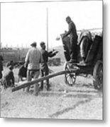 Pows Unload Cabbages For Lunch Metal Print