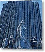Ppg Place Pittsburgh Metal Print