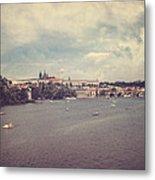 Prague Days II Metal Print