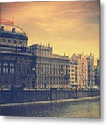Prague Days Metal Print by Taylan Apukovska