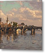 Prague Metal Print by Nop Briex