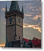 Prague Old Town Hall Metal Print