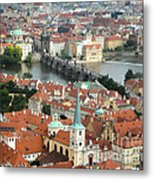 Prague - View From Castle Tower - 03 Metal Print