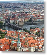 Prague - View From Castle Tower - 05 Metal Print