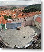 Prague - View From Castle Tower - 08 Metal Print