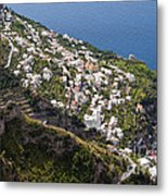 Praiano Village Metal Print
