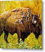 Prairie Companions Metal Print