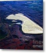 Prairie Dog Lake Metal Print