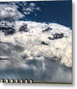 Prairie Storm Clouds Metal Print