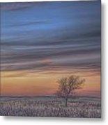 Prairie Sunset North Dakota 2 Metal Print
