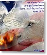 Pray For Our Nation Metal Print
