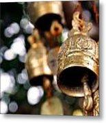 Prayer Bells Metal Print