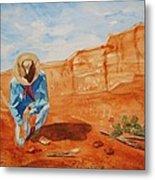 Prayer For Earth Mother Metal Print
