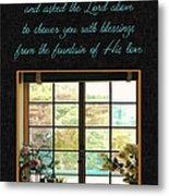 Prayer For You Card Metal Print