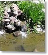 Prayer Fountain. Metal Print