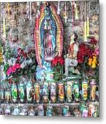 Prayers To Our Lady Of Guadalupe Metal Print