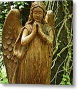Praying Angel Metal Print
