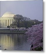 Pre-dawn At The Jefferson Memorial 2 Metal Print