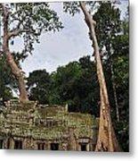 Preah Khantemple At Angkor Wat Metal Print