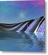 Precious Water Alien Landscape Metal Print