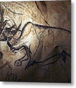 Prehistoric Cave Paintings, Chauvet Metal Print