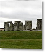 Prehistoric Monument - Stone Henge Metal Print