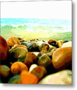Prehistoric Surface 2 Metal Print