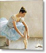 Preparation For Dance - D008548-a Metal Print