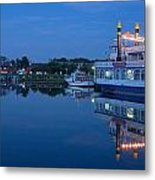 Prerow Hafen Metal Print