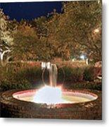 Prescott Park Fountain Metal Print