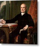 President John Quincy Adams  Metal Print