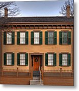 President Lincoln Home Springfield Illinois Metal Print