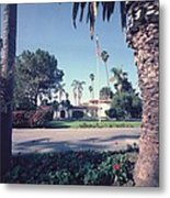 President Nixons Home In San Clemente Metal Print by Everett