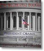 President Obama Inauguration Metal Print by Jost Houk